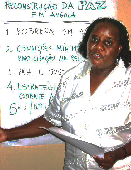 Eunice Inacio - memeber Development Workshop Angola